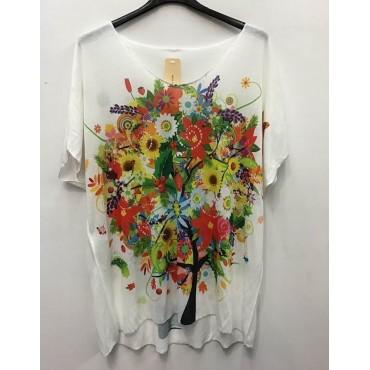 T-Shirt Léger imprimé