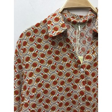 Blouse rond