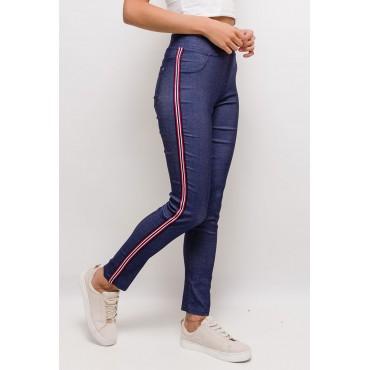 Jegging bleu jean