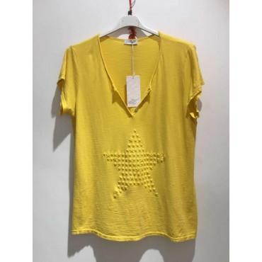 T-Shirt floqué étoile