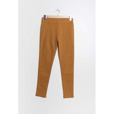 Pantalon Jegging Camel